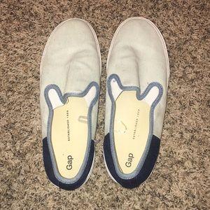 Blue GAP slip on sneakers